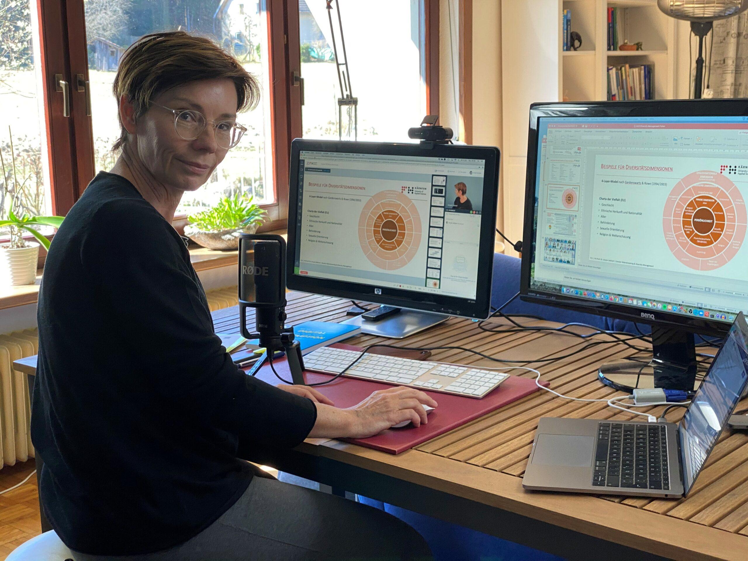 E-Learning – Prof. Liebhart zeigt, wie es geht!