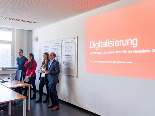 Zukunftsfitte Gemeinden mit FH Kärnten Support