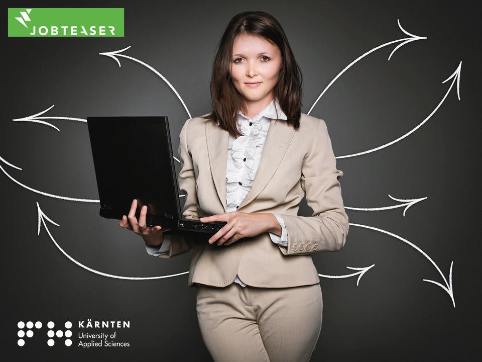 Die neue Job-Plattform der FH Kärnten – JOBTEASER