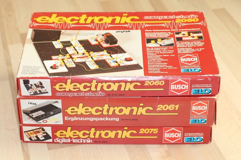 Elektronik Experimentierkasten der 80er