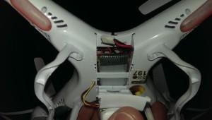 Batteriefach für den LiPo-Akku
