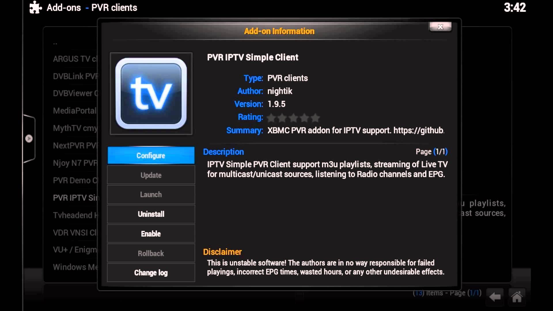 Fernsehen mit Aufnahme über IPTV mit Raspberry und A1