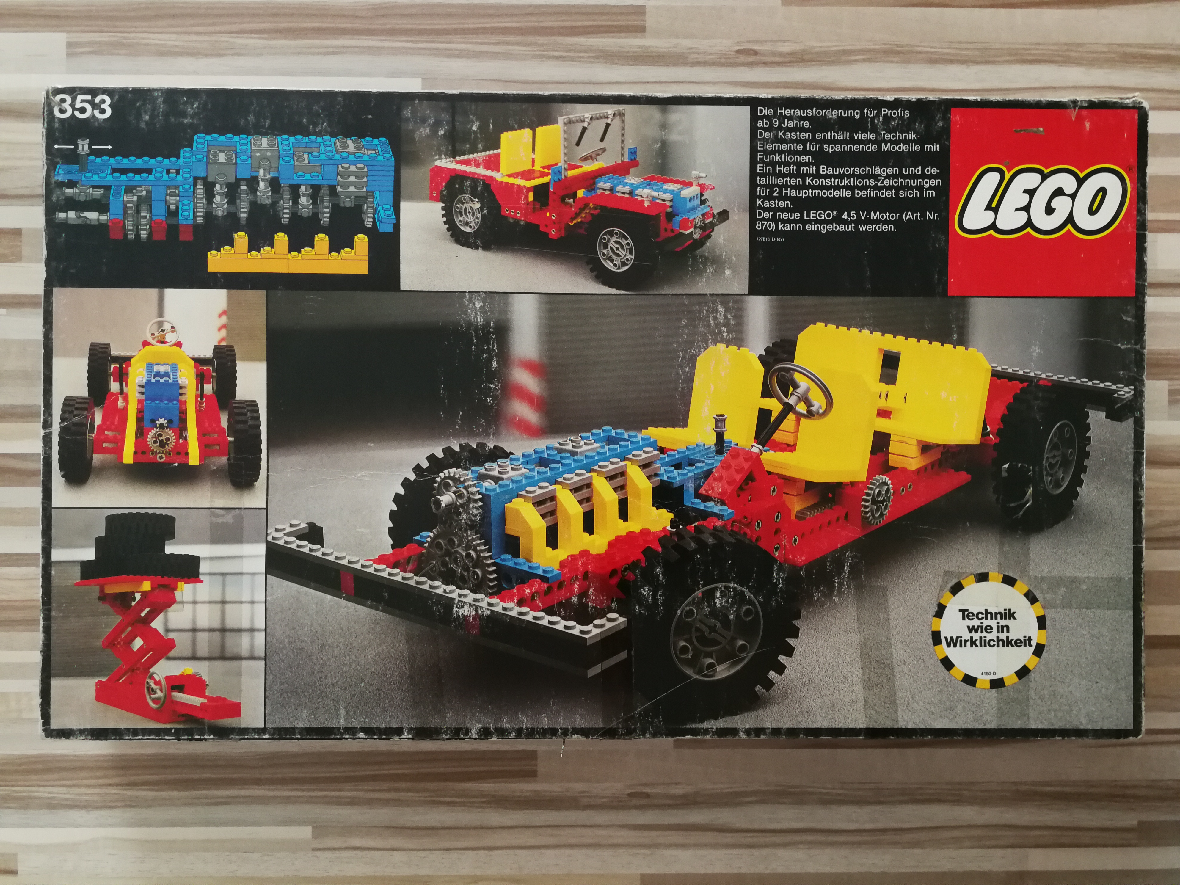 Lego Technic Car Ingmars Vintage Blog