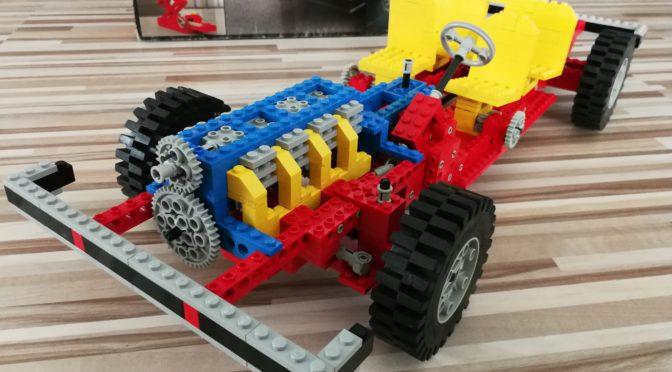 Technik-Spielzeug von früher – aus Kunststoff