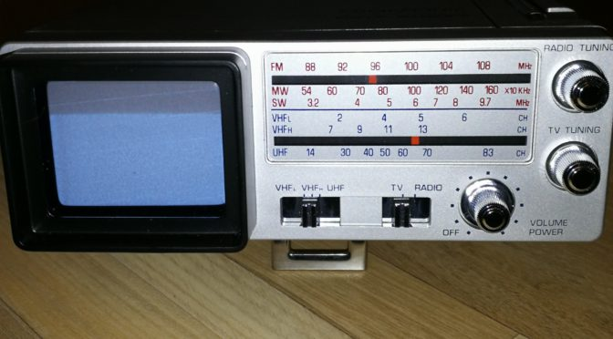 Mini-TV Broksonic