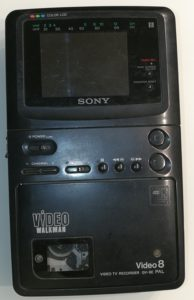 Sony Video8 Walkman GV-8E   Ingmar\'s Retroblog