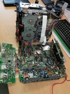 kleiner tragbarer computer