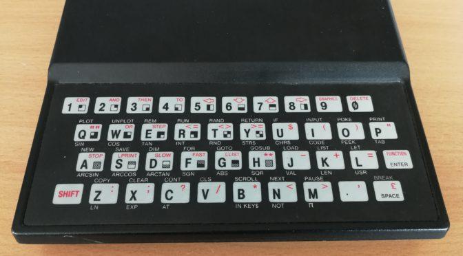 8-Bit Generation: Der ZX81 oder Timex Sinclair 1000