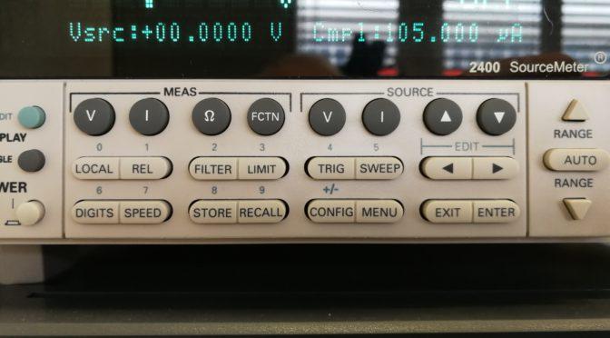 Diodenkennlinie mit Sourcemeter und Matlab aufnehmen