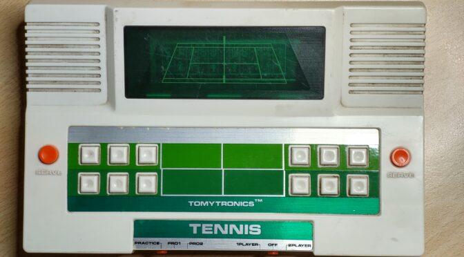 Tennis Spielekonsole von Tommytronic